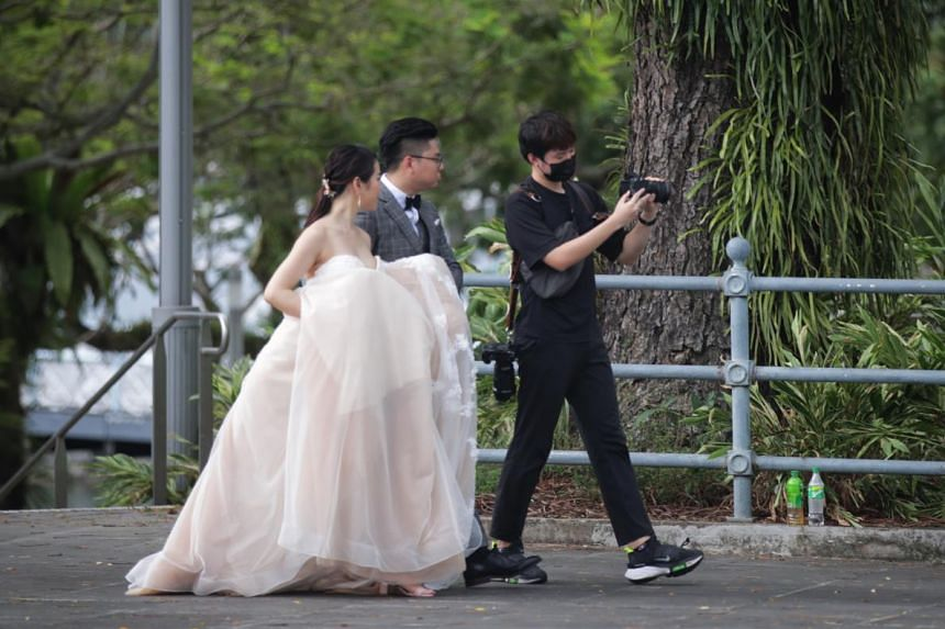 Couples will have to negotiate with the photographer if they want the rights to be transferred to them.