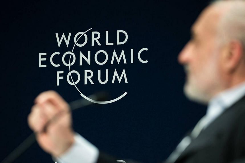 The World Economic Forum usually features heads of states as well many of the world's top executives, bankers and economic policy makers.