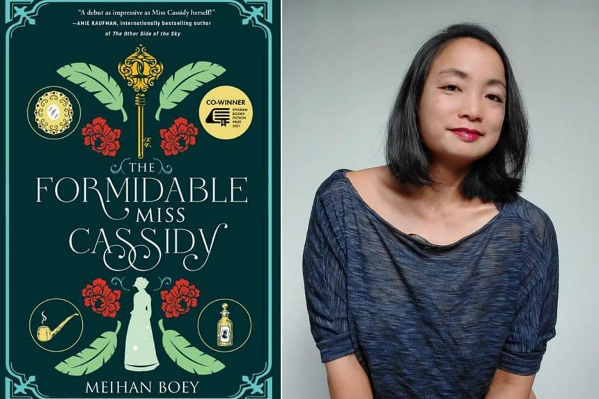 The Formidable Miss Cassidy is Meihan Boey's debut novel.