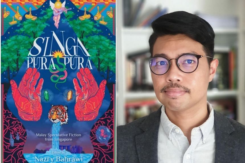 Singa-Pura-Pura is an anthology that collects speculative fiction by home-grown Malay writers, edited by Nazry Bahrawi.