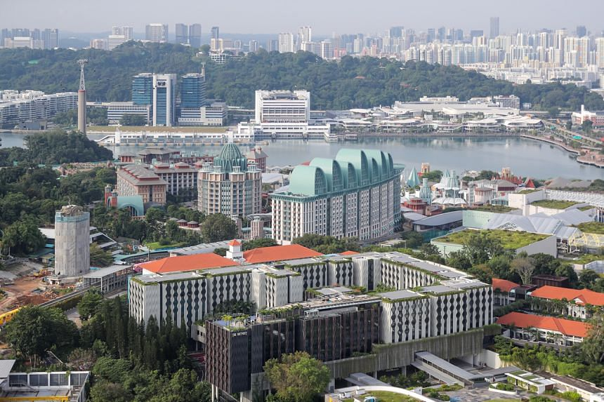 Sentosa businesses will by next year start offering green options for meetings, incentives, conventions and exhibitions, as well as wedding packages.