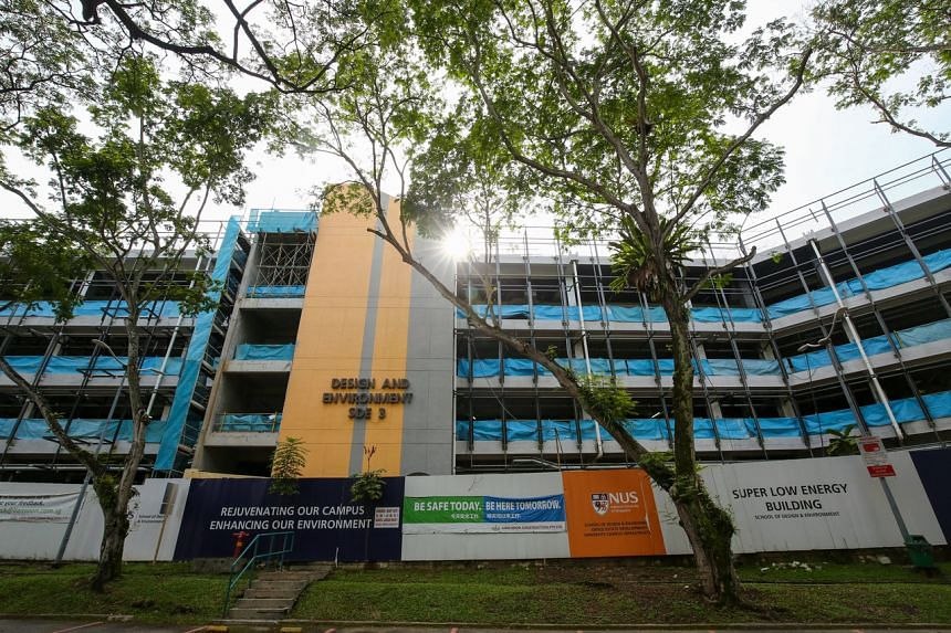 NUS' School of Design and Environment adopted strategies to slash energy use by more than 50 per cent.
