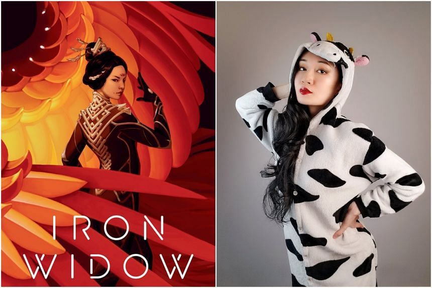 Cosplayer Xiran Jay Zhao got the idea for Iron Widow after watching the 2018 Japanese anime Darling In The Franxx.