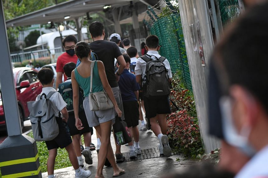 MOE announced on Saturday that all Primary 1 to 5 pupils will move to HBL from Sept 27.