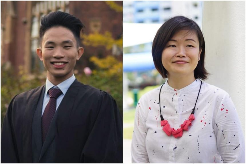 Although from different backgrounds, both Mr Isaac Ong, 24, and Ms Faith Wong, 40, have a love for medicine.