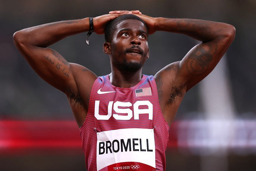 Trayvon Bromell is now tied for sixth on the all-time list.
