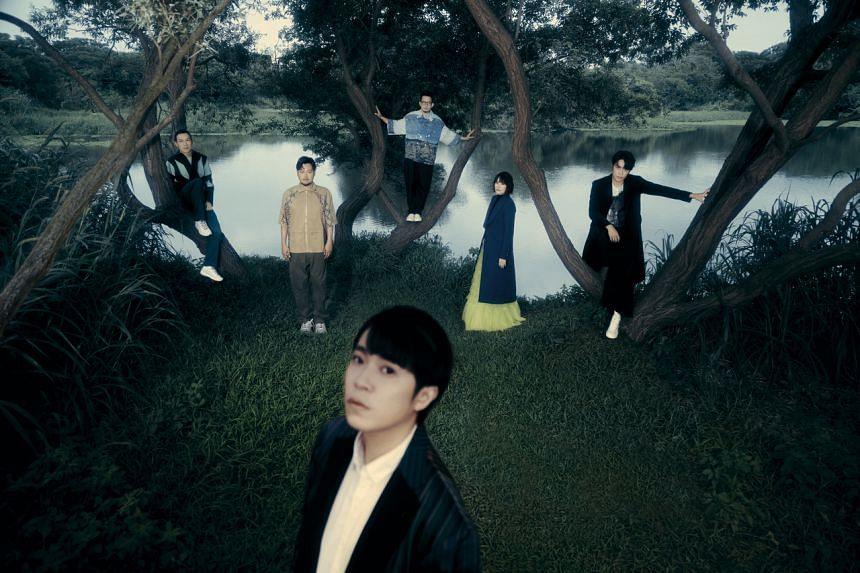 The six-member band released their first album, Strange Pool, on Sept 17.