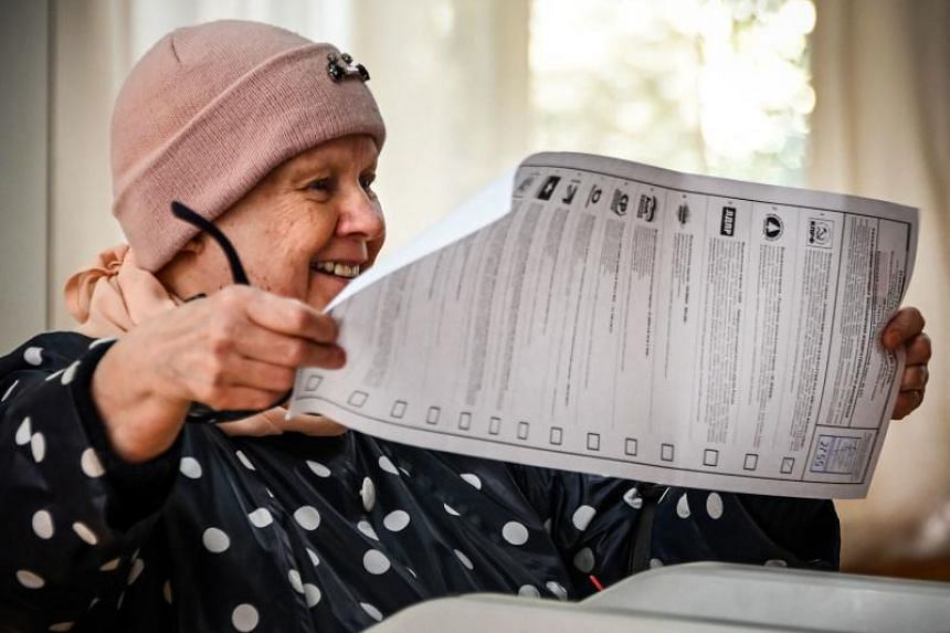 With just 9 per cent of ballots counted nationwide, the Central Election Commission said United Russia had won 38.57 per cent of the vote.