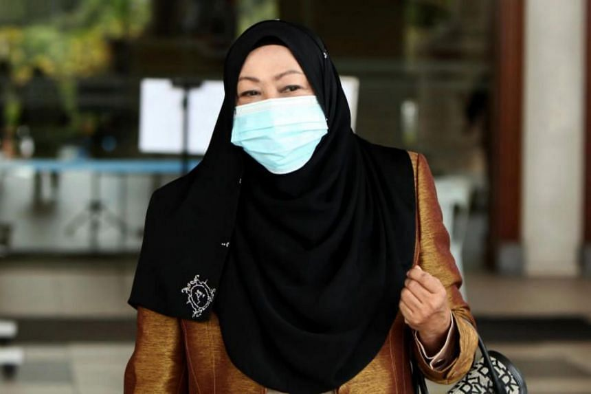 Former Malaysian spy chief Hasanah Abdul Hamid was charged in 2018 with criminal breach of trust, but was later granted a discharge not amounting to an acquittal in the High Court.