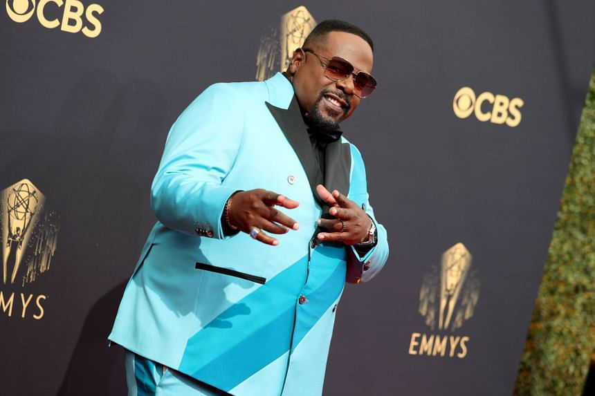 Cedric the Entertainer attends the 73rd Primetime Emmy Awards in Los Angeles, California, on Sept 19, 2021.