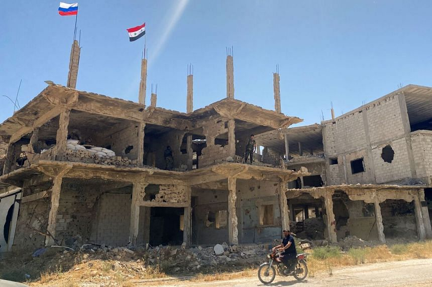 The meeting follows a major army offensive to retake the last rebel bastion in southern Syria, and after reestablishing control this month over Deraa.