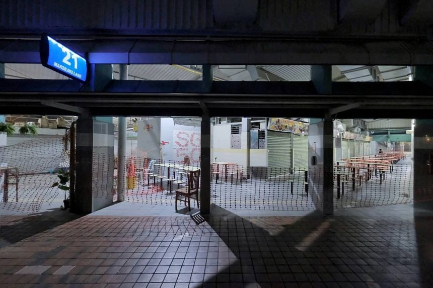 The Marsiling Lane Hawker Centre and Wet Market will reopen on Sept 25, 2021.