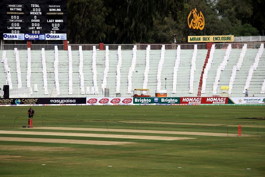 Rawalpindi was due to host men's and women's Twenty20 double-headers on October 13 and 14.