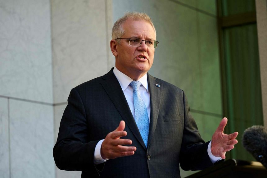 Australian Prime Minister Scott Morrison said on Sept 21 he will not speak with the French president at the United Nations this week.
