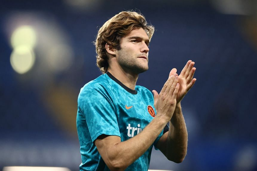 Marcos Alonso will instead point to an anti-racism badge on his shirt before kick-off.