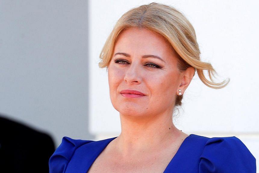President Zuzana Caputova is the first female leader of Slovakia.