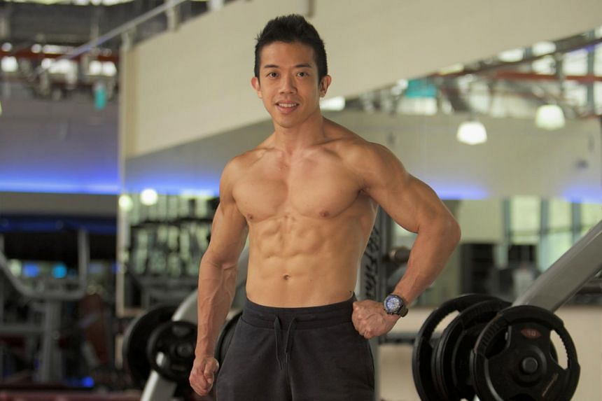 Mr Ivan Low aspired to have a lean and sculpted physique like ex-actor Vincent Ng and started reading up on the benefits of weight training.