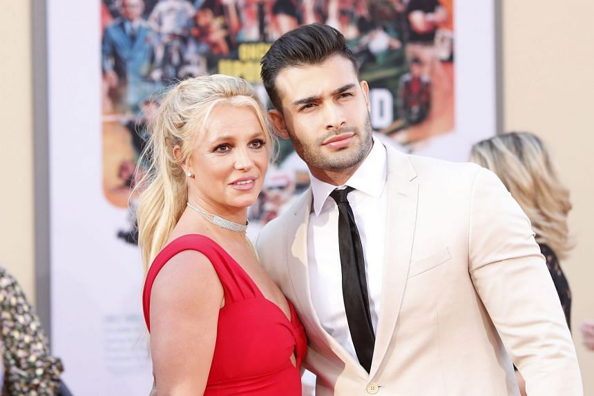 Britney Spears and boyfriend Sam Asghari (both above, in 2019) met in 2016 when they co-starred in a music video for her single Slumber Party.