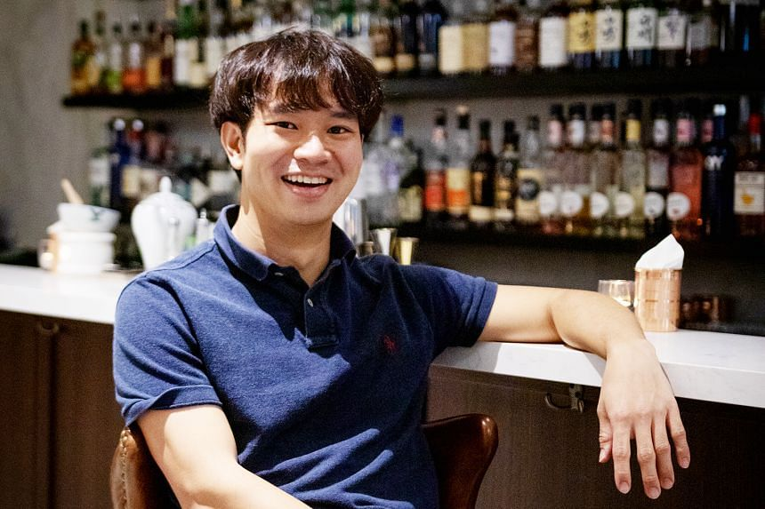 Juggling a full-time job and a bar business amid a pandemic is no mean feat, but this go-getting entrepreneur has shown that he's more than up for the challenge. PHOTO: JEKYLL & HYDE