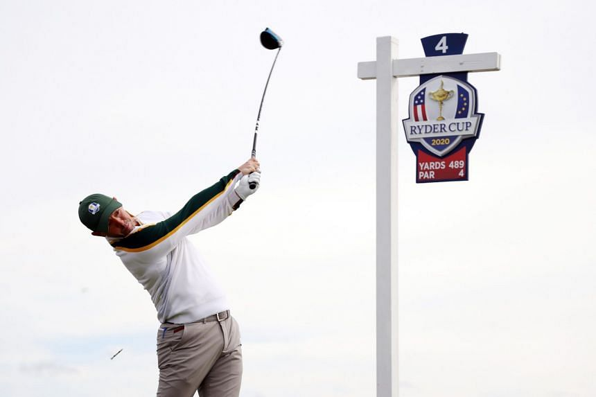 """Four-time major winner Rory McIlroy of Europe says a win """"would be massive""""."""
