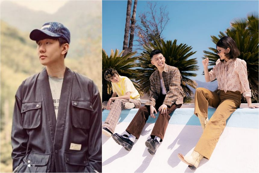 (From left) Mandopop star JJ Lin, rappers Warren Hue and Rich Brian, and singer Niki are featured on the soundtrack of Shang-Chi And The Legend Of The Ten Rings.