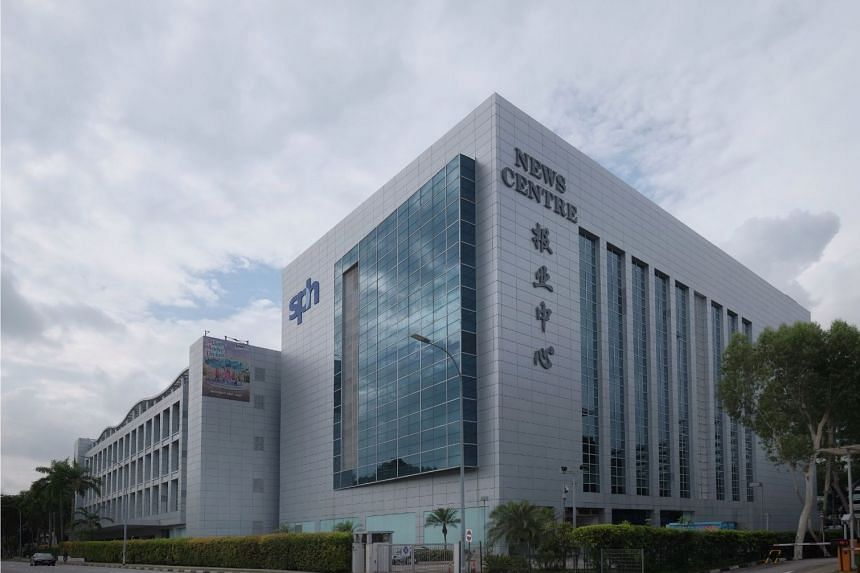 The Singapore Press Holdings News Centre building at Toa Payoh North.