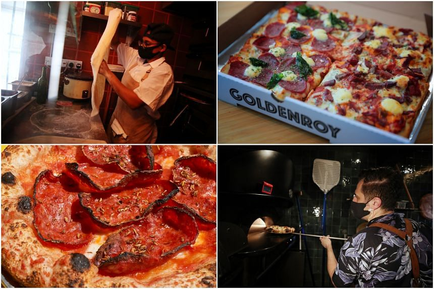 Home-grown pizza brands have been upping their game to stand out in a crowded market.