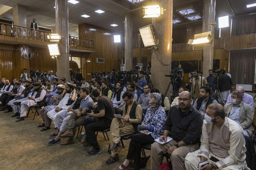 The once-vibrant media industry in Afghanistan has been in free fall since the Taliban seized control last month.