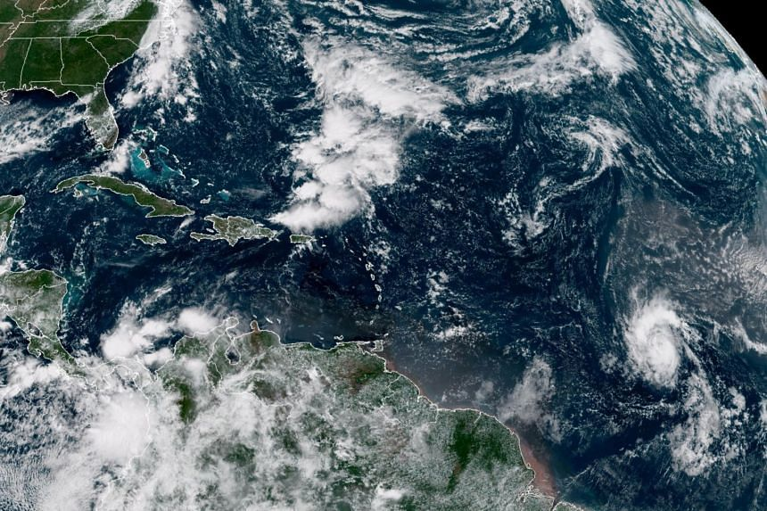 As of 11pm Eastern time, the storm was about 1,600 miles east of the eastern Caribbean.