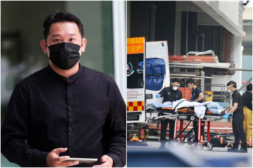 The explosion at a ground-floor industrial unit at 32E Tuas Avenue 11 killed three of Mr Chua Xing Da's employees.