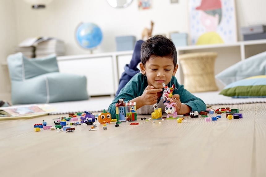 The Lego Group's Rebuild The World campaign shows how children use Lego bricks to build sets that help overcome challenges.