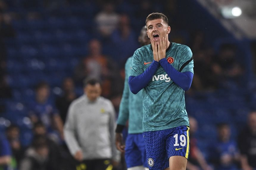 Mason Mount suffered an unspecified injury in Chelsea's League Cup tie against Aston Villa on Sept 22, 2021.