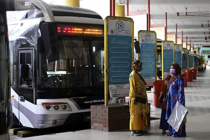 Interstate express buses have not been allowed to operate since March last year.