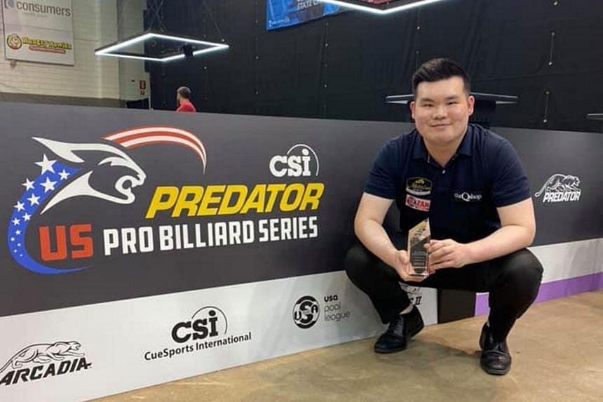 The win comes on the back of Aloysius Yapp's sensational runner-up finish at the prestigious US Open 9-Ball Championship.