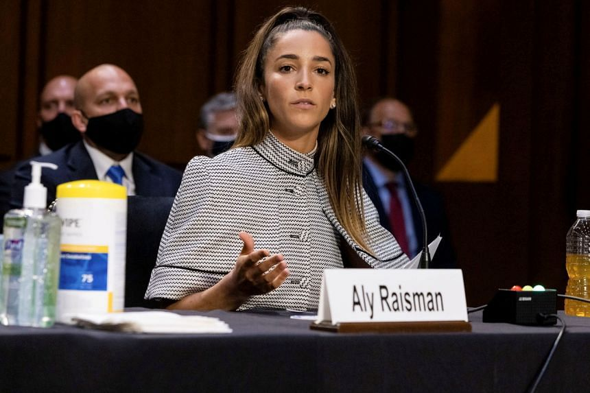 Six years after first speaking out, Aly Raisman said she is learning to love gymnastics again.