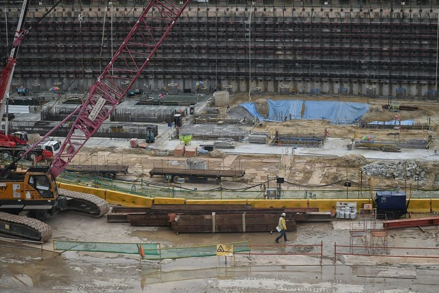 Singapore's construction industry has been facing mounting challenges amid the pandemic, from acute labour shortage to skyrocketing material costs.