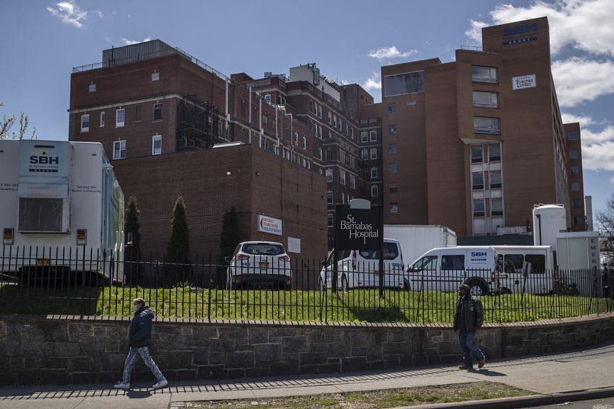 St Barnabas Hospital in the Bronx, New York.