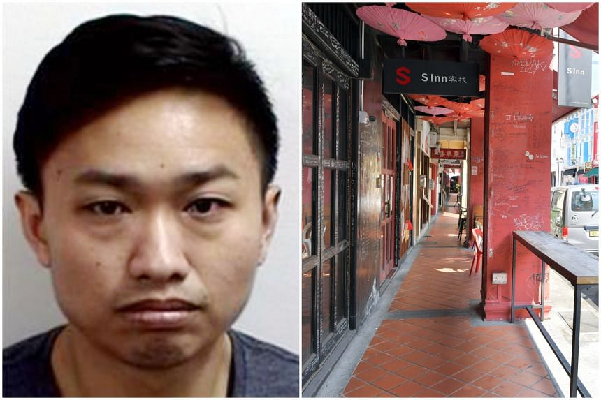 Angelo Ng Chek Kiang is accused of abetting the robbery at S Inn Chinatown in Temple Street on Sept 24.