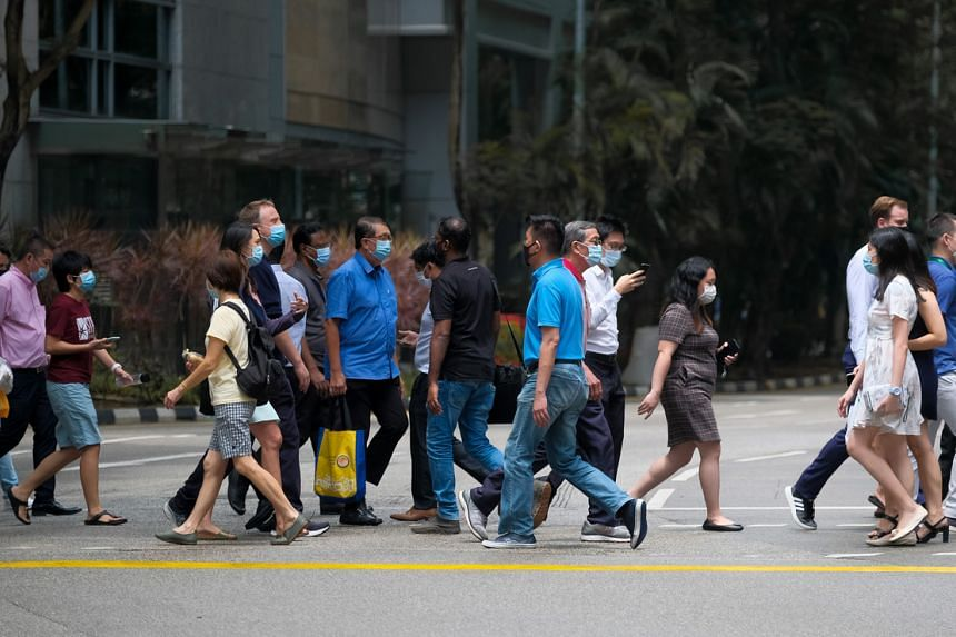 Singapore's permanent resident population fell by 6.2 per cent to 0.49 million.