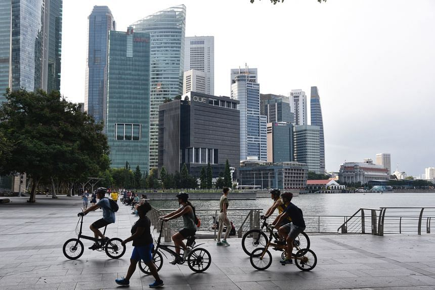 The US CDC said anyone who has not been vaccinated should avoid non-essential trips to Singapore.