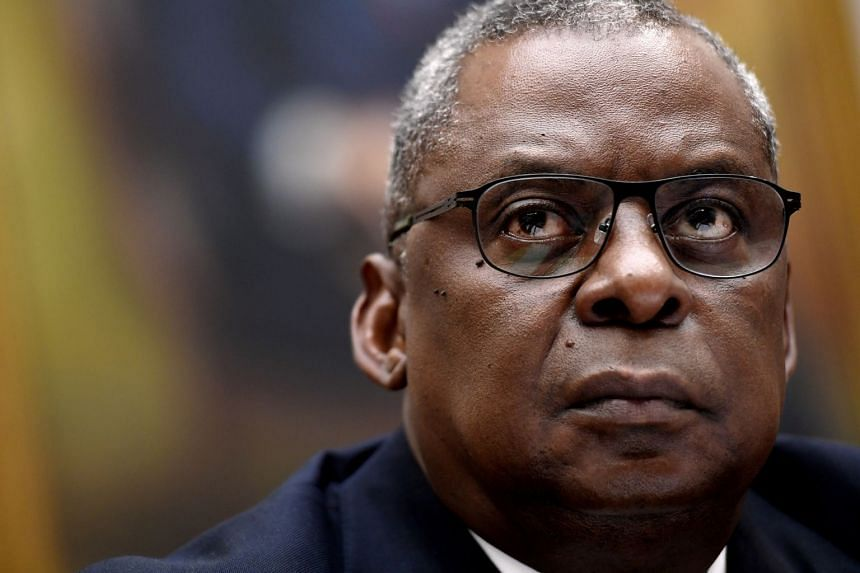 US Defence Secretary Lloyd Austin (above) said State Department officials would be notified of the matter.