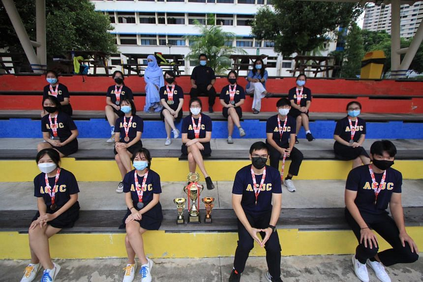 The ACJC girls' bowling team won their third consecutive overall A Division title at this year's National School Games.