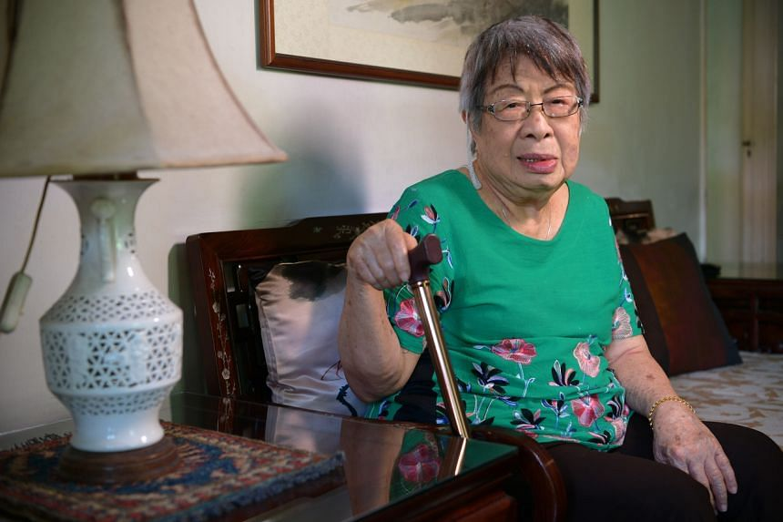 The oldest volunteer at Methodist Welfare Services is Mrs June Cheong, 92, who has been caring for the elderly for 40 years.