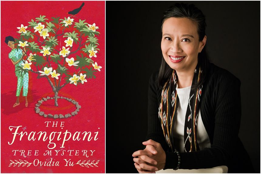 The Frangipani Tree Mystery is the first book of Ovidia Yu's historical murder mysteries.