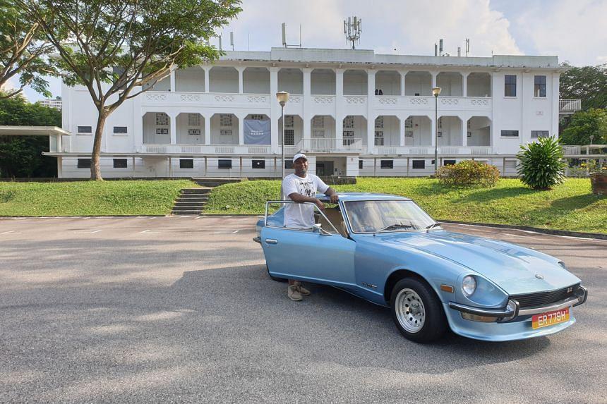 Mr Suren Subramaniam and his 1976 Datsun 260Z 2+2.