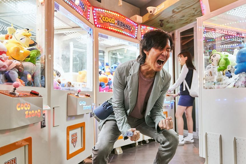 Lee Jung-jae plays Squid Game's main protagonist, Gi-hun, a down-and-out man struggling with his life.
