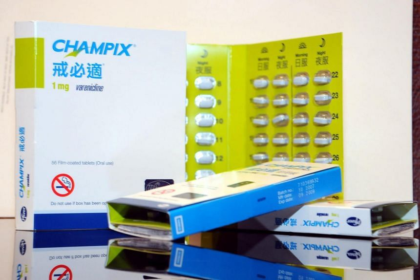 The Health Sciences Authority was alerted in May to the presence of cancer-causing agents in Pfizer's Champix drug.