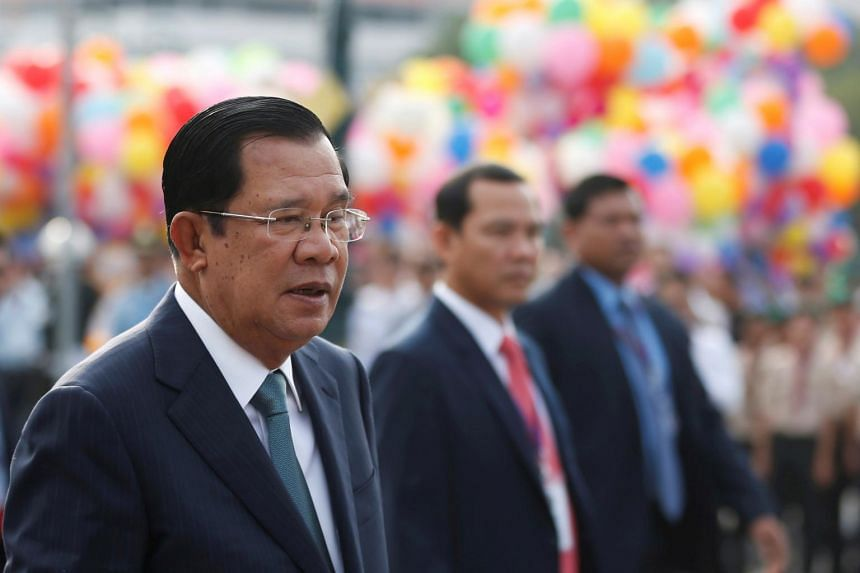 Cambodia PM Hun Sen is seeking to bar holders of the country's top posts, including the prime minister, from being citizens of other nations.