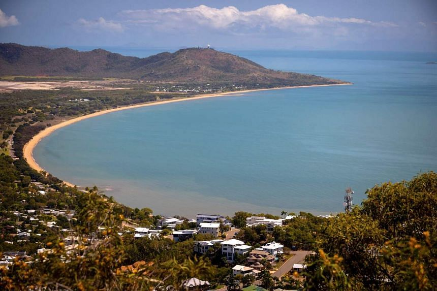A view of Townsville, a coastal city in northeastern Queensland. Australia's tourism sector is currently losing almost A$6 billion (S$5.9 billion) a month.