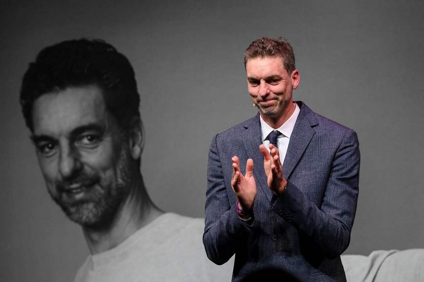 Former NBA player Pau Gasol announced his retirement in Barcelona on Oct 5, 2021.